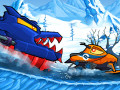 ゲーム Car Eats Car: Winter Adventure